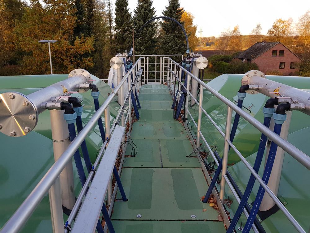 Neubau Prozesswasserbehandlung mittels Deammonifikation und Optimierung der Vorklärung auf der Kläranlage Seevetal