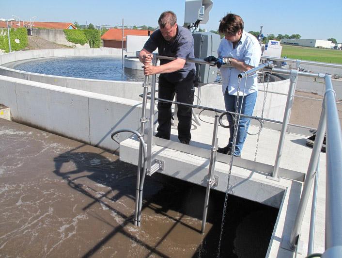 Optimierung und maschinelle Erneuerung der vorh. Anlage sowie Erweiterung um ein Belebungs- und ein Nachklärbecken auf der Kläranlage Boizenburg