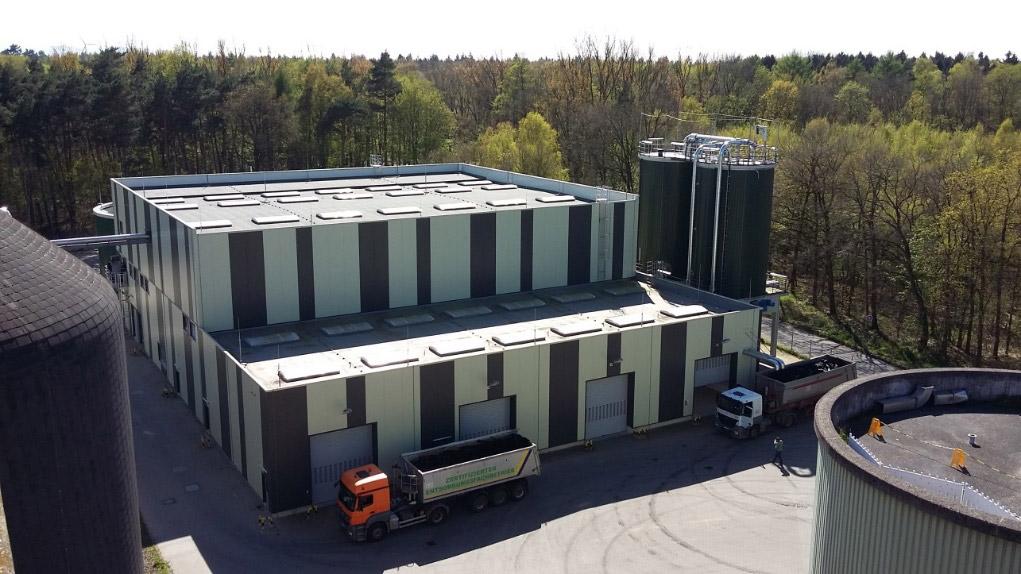 Erneuerung der zentralen Klärschlammentwässerung auf dem Klärwerk Gümmerwald