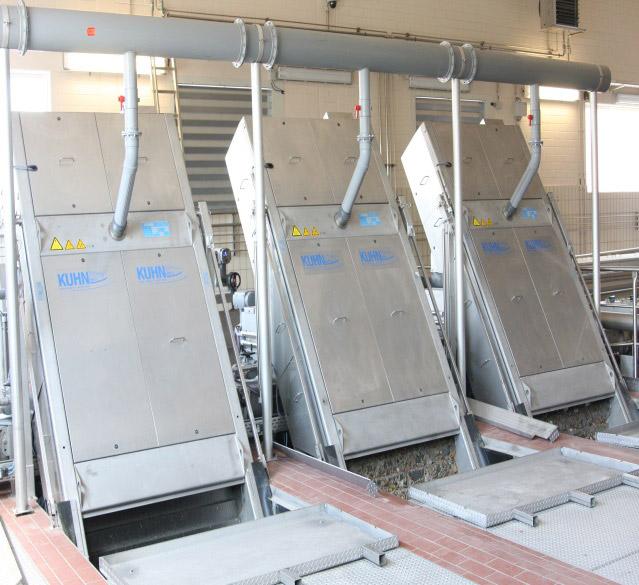 Erneuerung der Rechen- und Sandfanganlage auf dem Klärwerk Göttingen