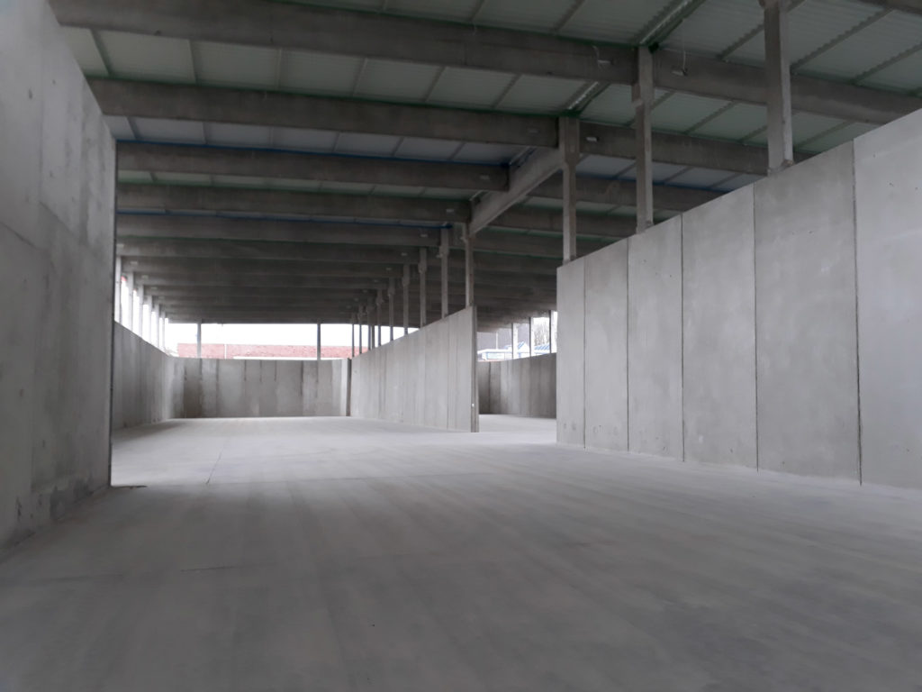 Umbau eines ehemaligen Belebungsbeckens zum Schlammlagerplatz auf dem Klärwerk Gümmerwald