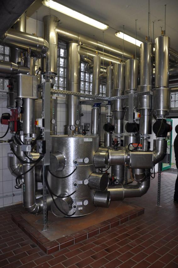 Optimierung und Umbau der Wärmeverteilung auf dem Klärwerk Kohlfurth