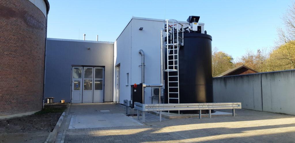 Neubau thermisch-chemische Desintegration auf der Kläranlage Löhne