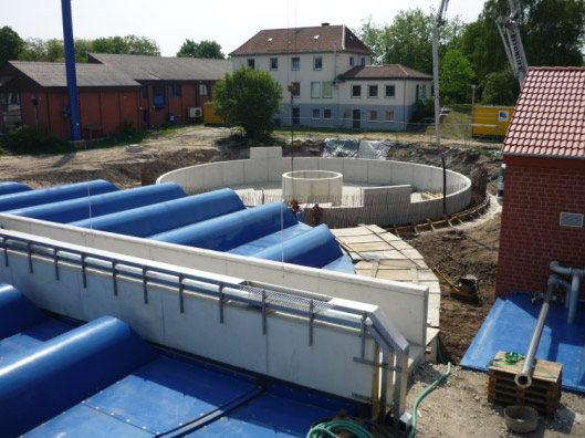 Abschnittsweise Anpassung, Erneuerung und Sanierung auf Grundlage einer Zustandsbewertung in 8 Bauabschnitten auf dem Klärwerk Osnabrück-Eversburg