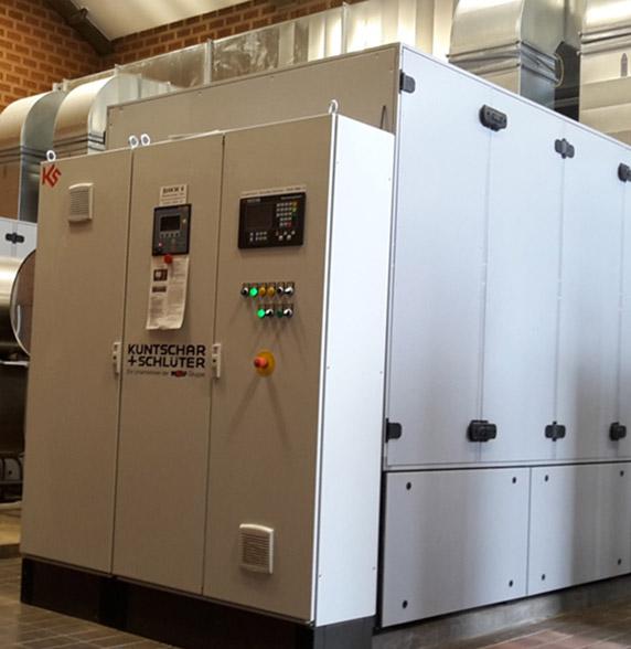 Neubau BHKW-Anlage zur Faulgasverwertung einschl. Gasaufbereitung und Optimierung des Heizwassersystems auf der Kläranlage Osnabrück-Eversburg