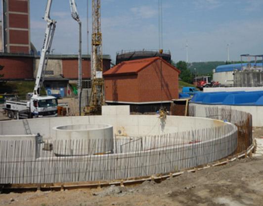 Neubau einer kompletten Vorklärstufe mit Primärschlammpumpwerk auf dem Klärwerk Osnabrück-Eversburg