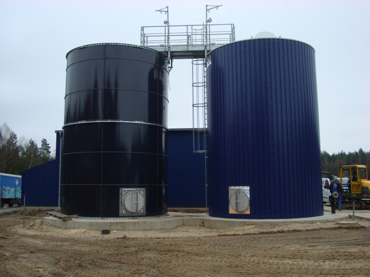 Neubau einer Druckentspannungsflotation zur Vorbehandlung von Schlachthofabwasser auf der Kläranlage Perleberg