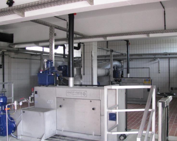 Optimierung und Erweiterung der Rechen- und Sandfanganlage auf dem Klärwerk Thedinghausen